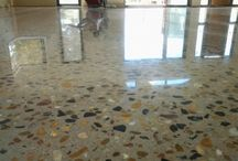 Polished Concrete - Introducing the superfloor / Using concrete as an exposed surface in your home is the future of flooring