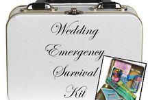 Weddings - Emergency survival kit. / by Liza