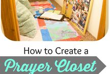 Cool ideas / Prayer closet