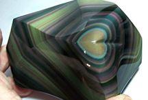 Minéraux : Obsidiennes