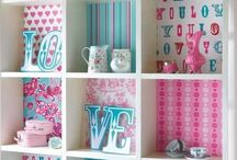 PULGA'S ROOM / Girlsroom ideas