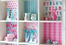 PULGA'S ROOM / Girlsroom ideas