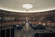 library & bookstore