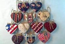 C Hearts & Stars & Ornaments / Crafts Hearts & Stars