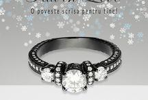 Black Collection - Corelle Bijuterii Argint