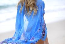 BEACH COVER UPS AND KAFTANS