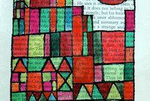 Paul Klee- kunstlessen beeldend voor kinderen / Doe hier ideeën op om thuis of op school aan de slag te gaan! Mevrouw Merel inspireert graag kinderen, ouders en leerkrachten.