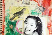 My scrapbooking & photo collage / スクラップブッキングの作品やフォトコラージュの作品