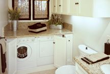 laundry room/bath combo