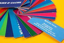 Qrious Lab.: Biz Card - colorfull