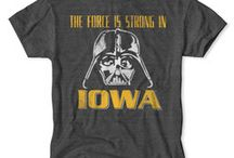 Star Wars / The Force is on your side with this vintage collegiate apparel line from Tailgate Clothing.