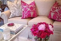 Pink {Loves} Pillows / Pretty pillows for the home