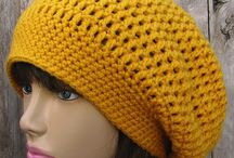 Crochet Hats and scarfs