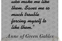 Anne of Green Gables / by Tiffany Howell