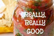 salsa and sauce