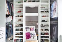 Walk-in à faire rêver! / On rêve toutes d'aménager un immense walk-in où entreposer l'ensemble de nos vêtements… Voici des modèles bien pensés pour vous inspirer!