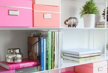 Bookshelves Organization