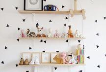 Decoración / Inspiración para decorar paredes de espacios pequeños.