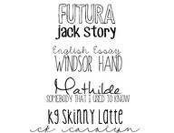 fonts / by Niki Ogden