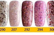 Q1T Professional UV nail polish- Golden & special colours