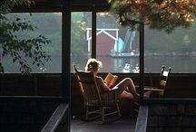 if I had a cabin....  / I would enjoy the pleasures of the creations given to us.... / by Juanita Holmes