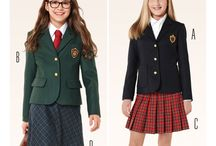 Sewing - Patterns for school uniform