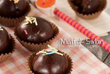 küçük  kekler