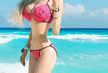 "Valeria Lukyanova / Just some little facts and stuff about the famous ""Barbie Girl"" that I love  / by Rebecca Quigley"