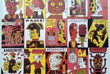 To celebrate Paris - Fête du Graphisme, Paris janvier 2014, Champs Élysées / Une collection de 39 affiches originales  d'artistes de renommée internationale de 25 pays http://webadmin.fr