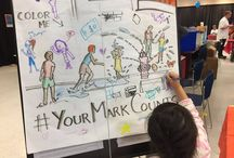 #YourMarkCounts / Carolyn Dee Flores - Giant Coloring Pages For Children