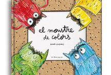 El Monstruo de Colores / El Monstruo de Colores se ha hecho un lío con sus emociones. Anna Llenas guía a los más pequeños, a través de este precioso libro, a saber como identificar las emociones.
