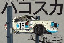cars drawing