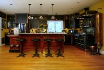 Steampunk kitchen and livingroom / by Jacque Estill Summers