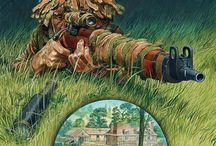 Sniper art