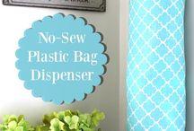 guardar bolsas de plástico