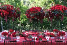 Big Red Centerpiece