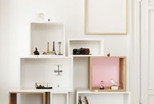 furniture | cubby shelves / by Katie Hatch