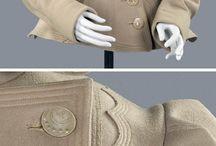 Sewing clothes inspiration, coats