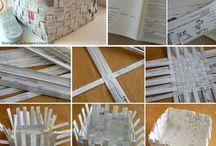 Flet papir