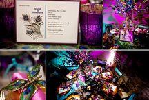 Exotic Purple Fall Wedding
