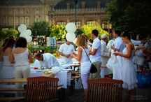 Dinner en Blanc - White Dinner Budapest, Nyugati Railway Station