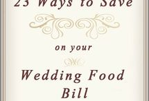 A Touch of Elegance to Deliciousness / Food tips to have an affordable wedding day, while still making it look FABulous!