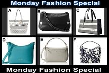 Monday Fashion Special July 28 at 10 PM / Designer Choice Auction Handbags tonight 10 PM OneCentChic.com