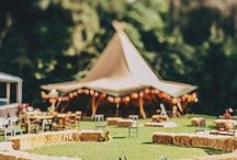 Inspiration || Tipi weddings