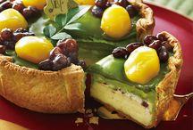 seasonal cheesetart(季節限定チーズタルト) / その季節に食べたくなるような、旬のフルーツや素材を使用したチーズタルトを月替わりでお届けいたします♪