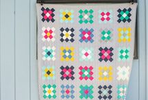 quilts // traditional quilts made modern / mix it up! make that traditional quilt block modern