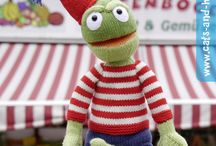 knitted toys / Everything that is knitted and has eyes