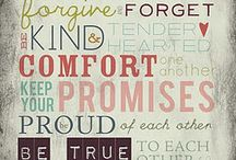 Wisdom Faith Hope Freedom / by Marilyn Romero