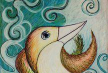 """My paintings - Nasjo Ribeiro / paintings and drawings """"By Jonas Assis Ribeiro"""""""