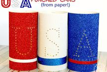 Patriotic DIYs / Patriotic DIY projects for a festive 4th of July.